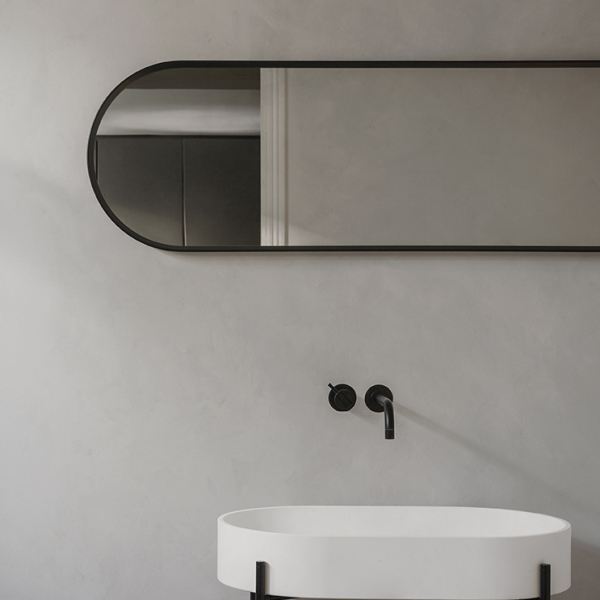 Norm Wall Mirror black